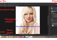 Application frame photoshop