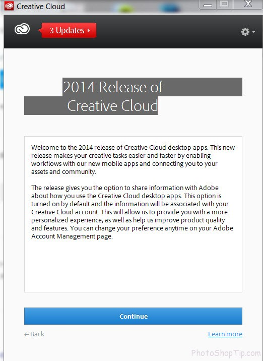 2014 release creative cloud