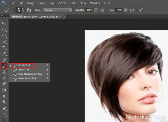 how to change hair color photoshop