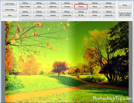 analogica effect in Easy Photo Effects