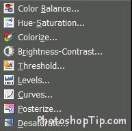 Color tools of GIMP