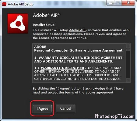 adobe AIR setup guide
