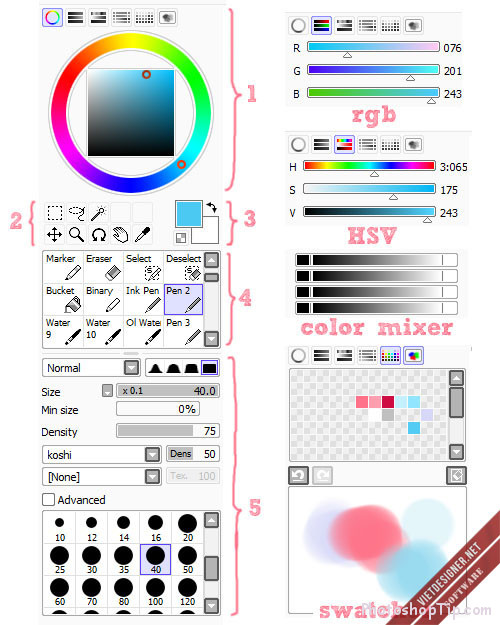 color-and-tool-panel-of-Paintool-SAI-1