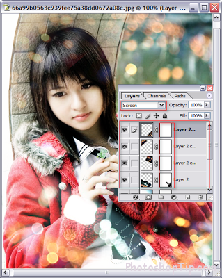 how to use texture in Photoshop 4-3