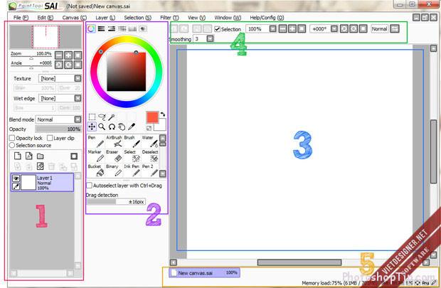 interface-of-Paintool-SAI-1