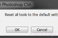 reset all tools to default settings