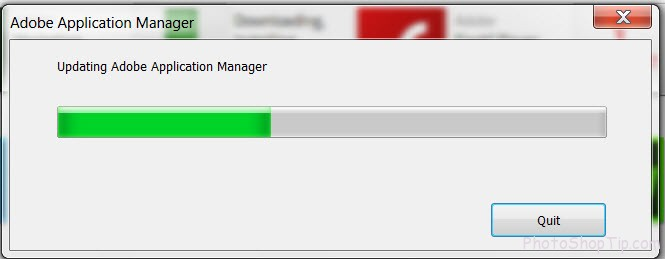 updating adobe application manager