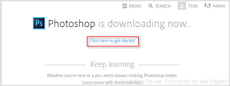downloading photoshop cc