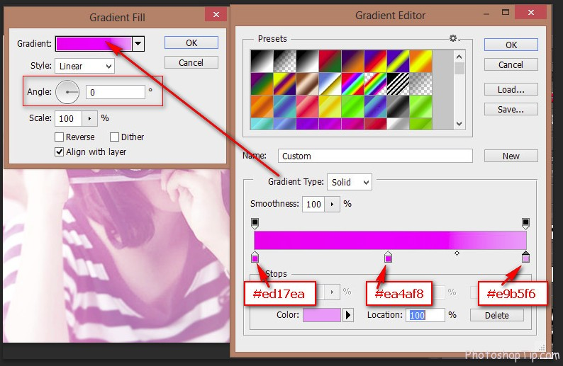 Create a Gradient Fill layer