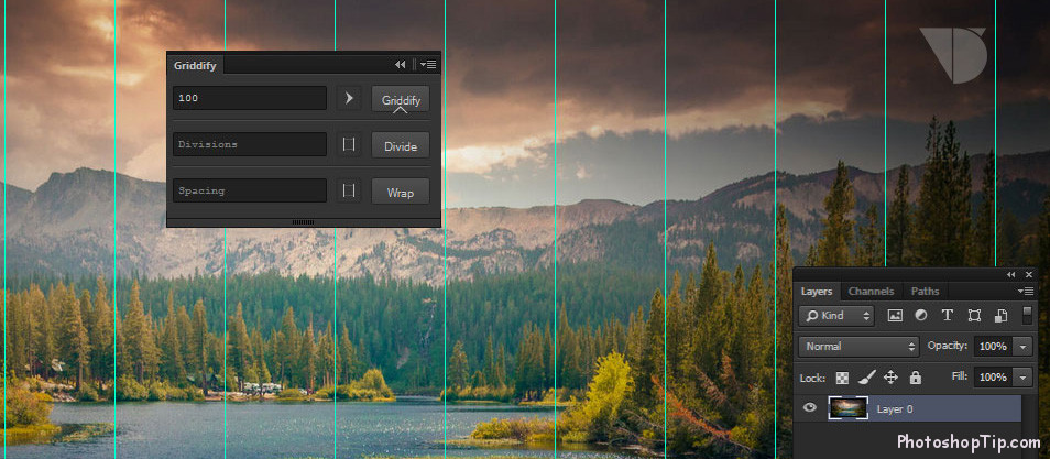 Griddify-plugin-for-photoshop